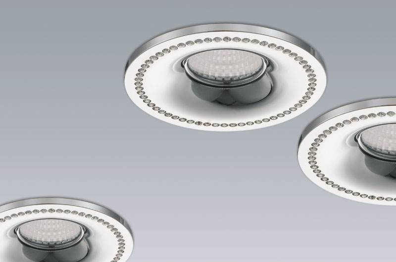 'Fashion' Round recessed light fixture