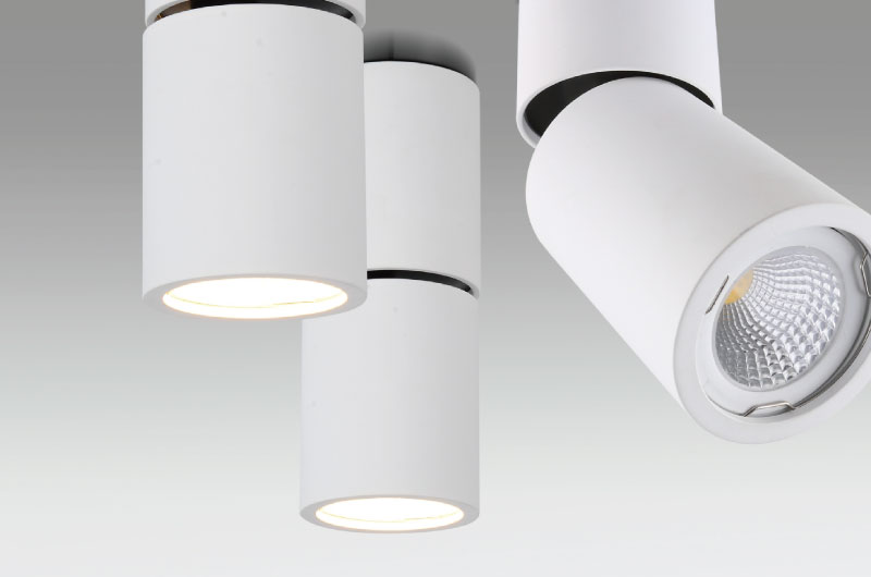 Adjustable Cylindrical Lamps