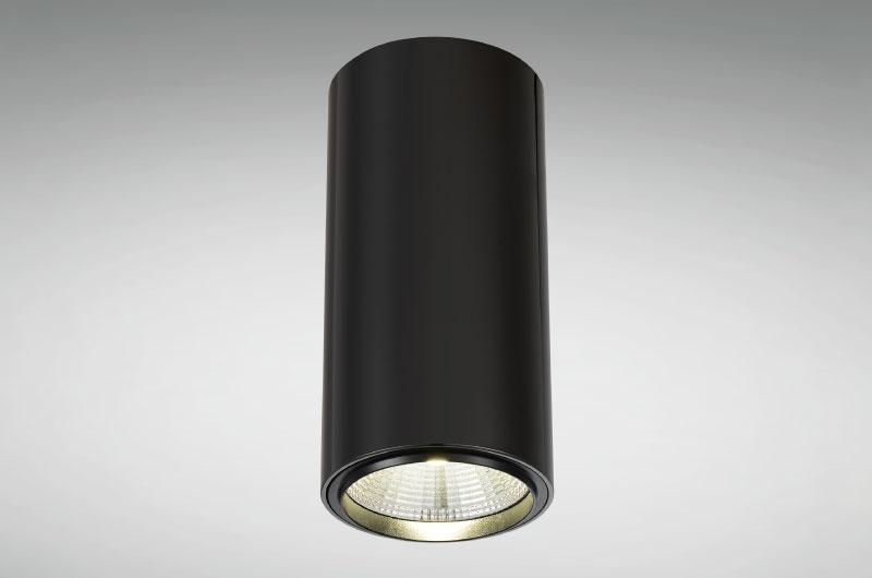 Lampara Tubo Negra