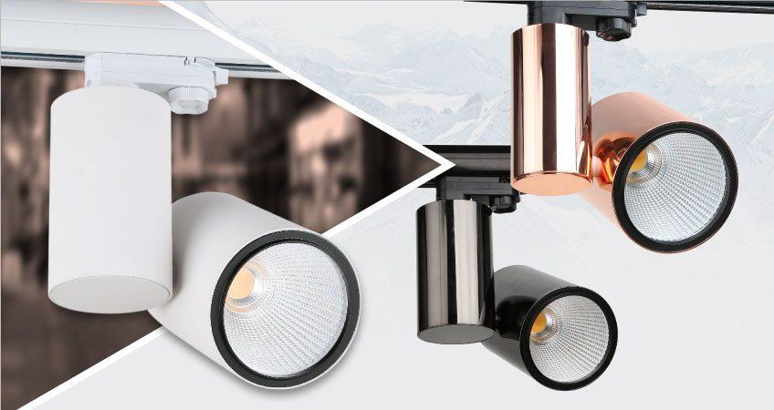 CRI LED lighting Carril>97